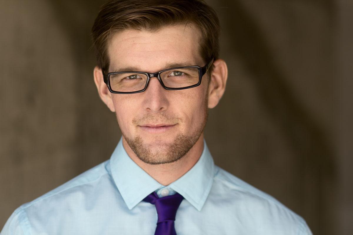 Garrett Schweighauser's Headshot